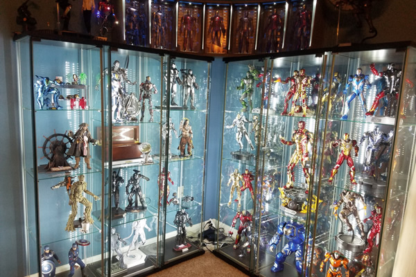 Home display cabinet 2